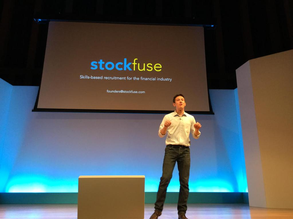 Stockfuse presents at Barclays Accelerator powered by Techstars